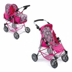 Doll Stroller Exchange (Hot pink pearls)