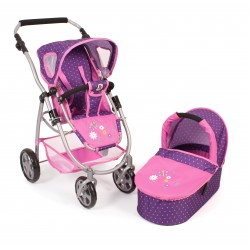 EMOTION 2 in 1 (Dots Purple Pink)