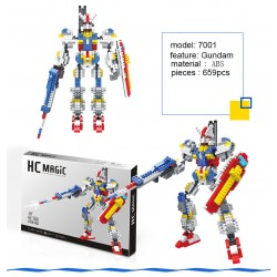Robot Gundam  Magic Diamond Blocks