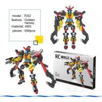 Robot Golden Heresy  Magic Diamond Blocks
