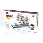White boat Magic Diamond Blocks