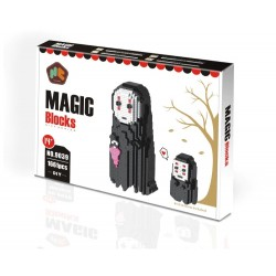 No Face Man Magic Diamond Blocks