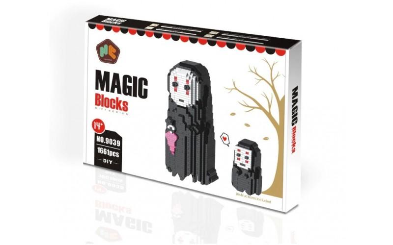 No Face Man Magic Diamond Blocks
