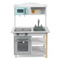 Wooden toy kitchenette