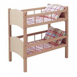 Dviaukštė lėlių lovytė