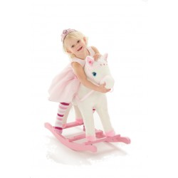 Princess white horse