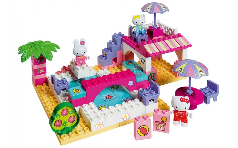 BIG BLOXX HELLO KITTY BUNGALOW