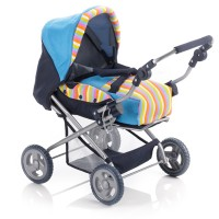 Doll Stroller PICCOLINA (Rainbow)