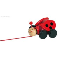 Pull along ladybird Lil