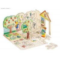 Creation Puzzle - My Garden