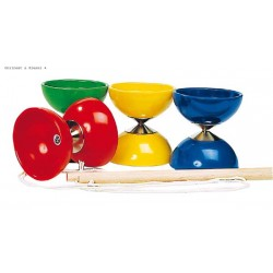 Diabolo with 2 wooden sticks