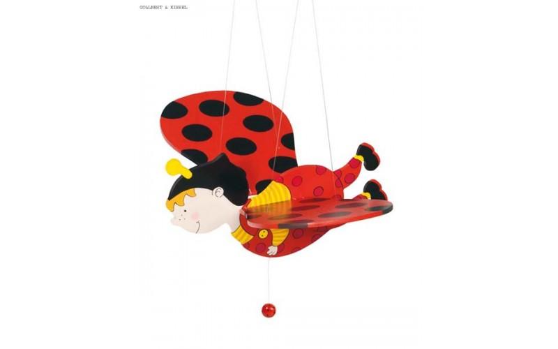 """Swing figure """"Ladybug"""""""