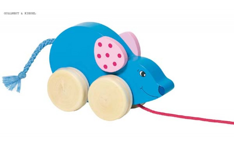Pull along animal - Mouse Malino