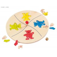 Bears' merry go round game