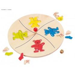 Bears' merry go round game