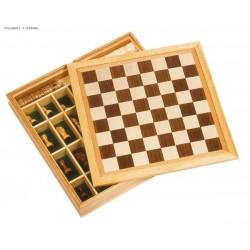 Chess and Draughts