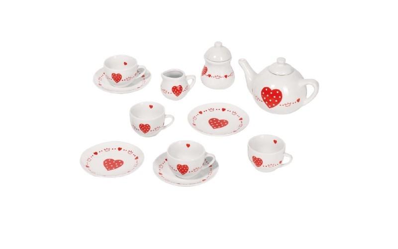 Tea Service - Heart & Crown