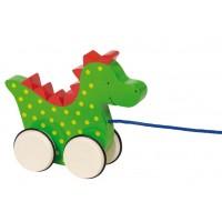 Pull along animal - Dragon Saro
