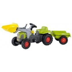 Pedalais minamas traktorius RollyKid krautuvas CLAAS